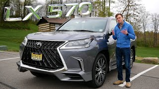 The 2020 Lexus LX 570 Combines Legendary Reliability with Luxury