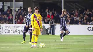 FC Cartagena 0 - 2 FC Barcelona