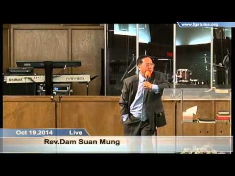 [FGATulsa]#1068# Oct 19,2014 Zomi Service (Pastor Mung Tawng