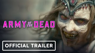 Army of the Dead - Official Trailer (2021) Dave Bautista, Zack Snyder