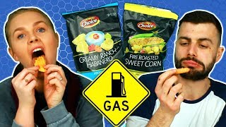 Irish People Try American Gas Station Chips