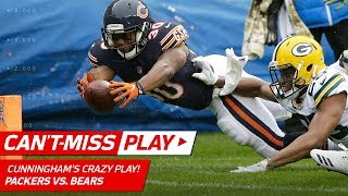 Bears Challenge Crazy Play: Touchdown, Touchback, or Out of Bounds? | Can't-Miss Play | NFL Wk 10