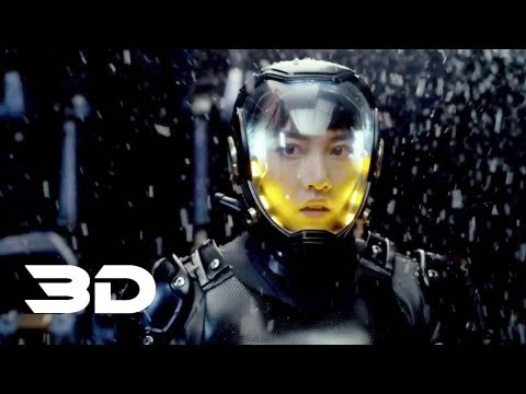 Pacific Rim - Official Trailer 3 In 3D (Original)(2013) Warner Bros
