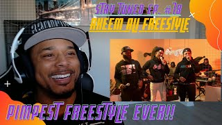 Stay Tuned Ep. #78: PIMPEST FREESTYLE YOU'LL EVER HEAR -- Akeem Ali [REACTION]