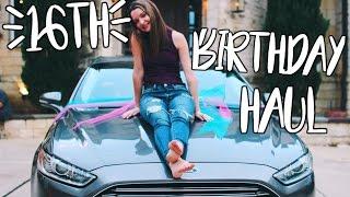 16TH BIRTHDAY HAUL | Avryana Grace