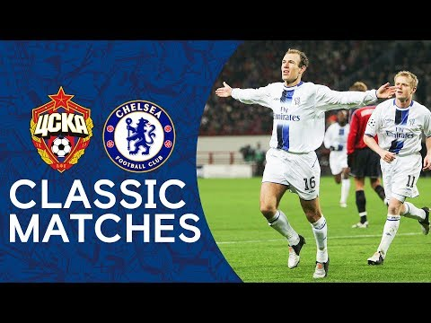 CSKA 0-1 Chelsea | Arjen Robben's First Chelsea Goal | Champions League Classic Highlights
