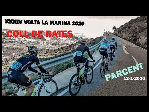 XXXIV Volta La Marina Parcent 12-1-2020 Ciclismo 4K Coll de Rates