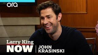 How John Krasinski fell in love with Emily Blunt