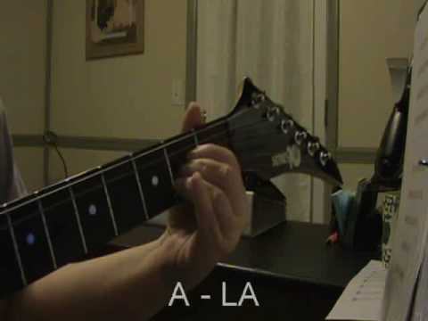 Este Es Mi Deseo De Honrarte A TI - Tutorial Guitarra