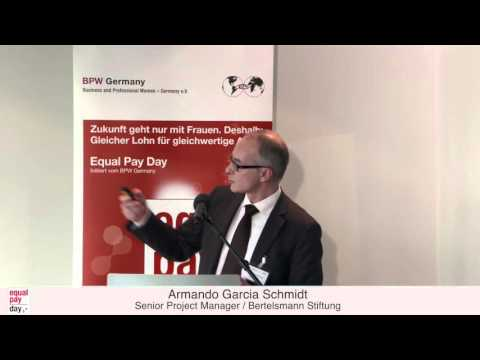 Armando Garcia Schmidt | Equal Pay Day Forum am 18.11.2015 in Düsseldorf
