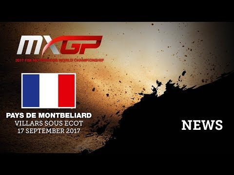 NEWS Highlights - MXGP of Pays de Montbeliard 2017 - Mix ENG