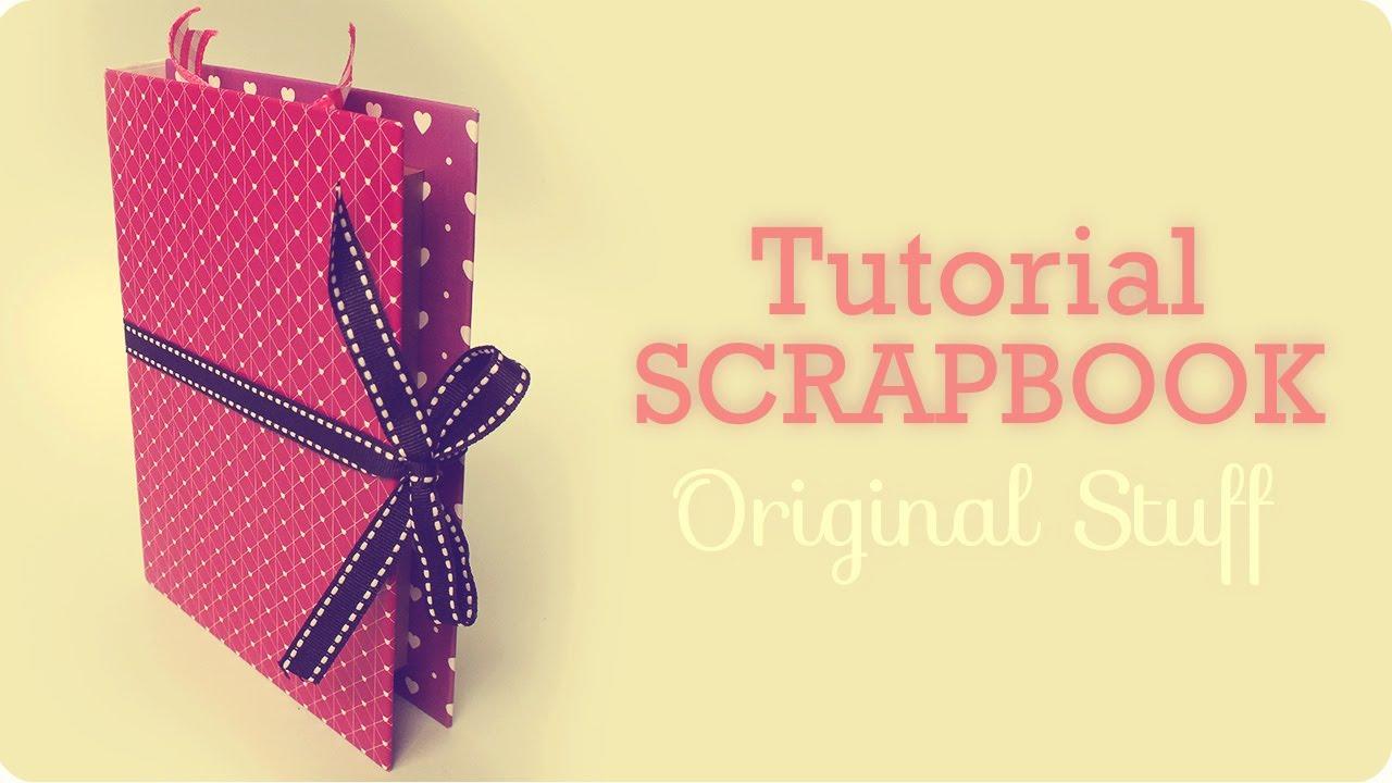 Caja/Libro [Scrapbook] - Original Stuff - YouTube