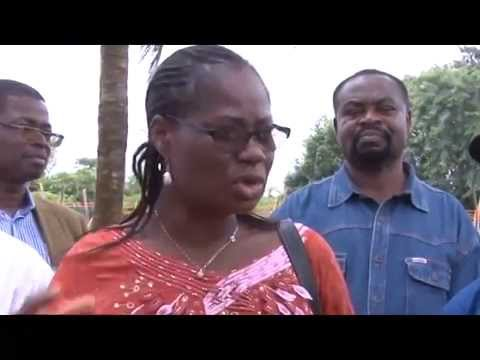 Visite Rosine Sori CoulibalyPNUD Bénin