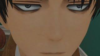 Eren makes fun of Levi (AOT VR)