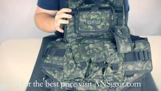 GXG Tactical Vest, Digi Desert Camo