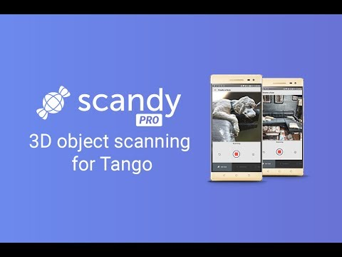Scandy Pro is 3D object scanning for Tango devices