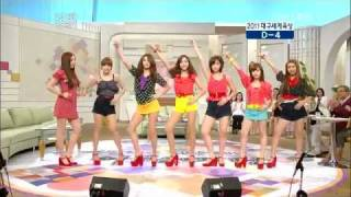 110823! / T-ara(티아라) - Roly Poly  / [KBS Morning Place]