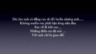 [HD] Anh sẽ quên - Mr. J ft Yanbi (Ladykillah 2010) [+lyrics]