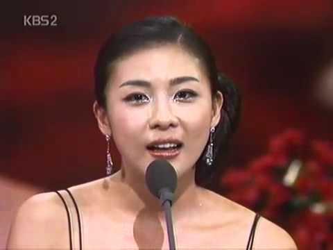 Ha Ji Won   Daesang award for drama Hwang Jin Yi 2006
