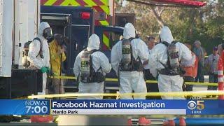 Sede de Facebook en California es evacuada ante la presencia de un paquete sospechoso de contener gas sarín
