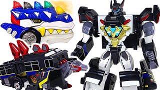 Jurassic Cops Evolution Jurassic Commander, Jutego dinosaur transformers appeared! #DuDuPopTOY