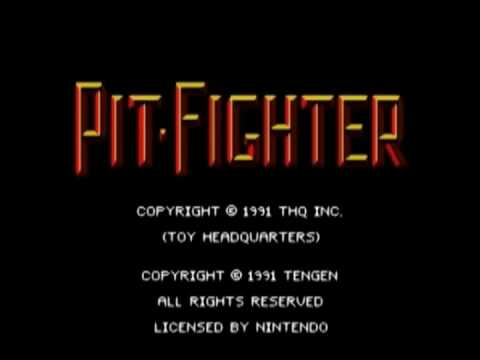 Baixar Pit-Fighter (SNES) - Angry Video Game Bear