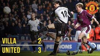 FA Cup Classic: Aston Villa 2-3 Manchester United (2002)