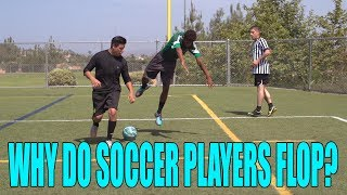 Why Do Fútbol (Soccer) Players Flop? | David Lopez