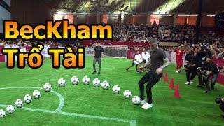 Thử Thách Bóng Đá đi tìm David Beckham , Công Vinh và Đỗ Duy Mạnh U23 Việt Nam cùng Đỗ Kim Phúc