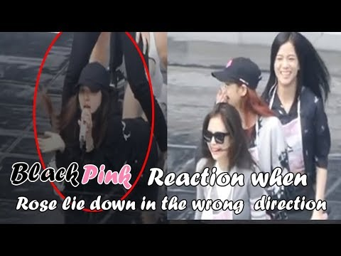Blackpink burst in laugh when Rose lie down in the rehearsal