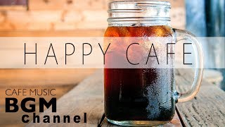 Happy Cafe Music - Latin, Jazz Instrumental Music For Work, Study, Relax