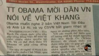 OBAMA muốn nghe 2 bản Việt Nam ANH LÀ AI và VIỆT NAM TÔI ĐÂU