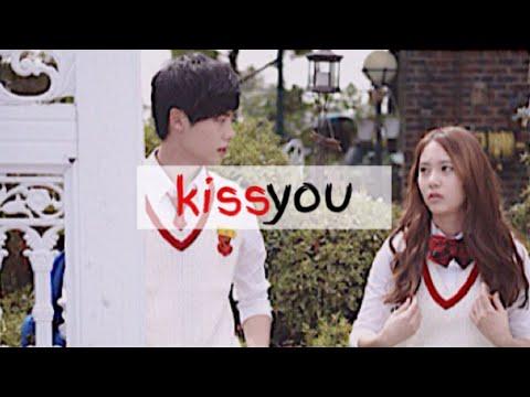Krystal ﹢ Jong Seok • ĸιѕѕ yoυ [HUMOR]