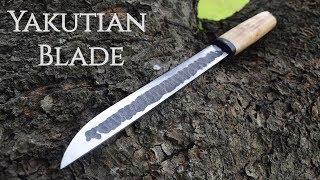Knife making - Forging a Long Yakutian knife