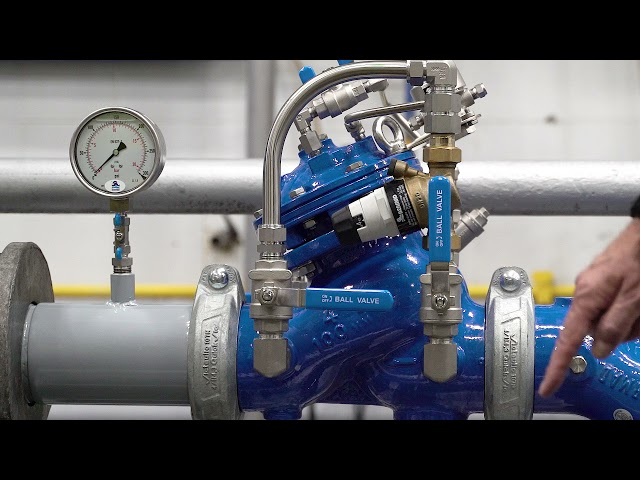 BERMAD 720-2B Pressure Reducing Valve with Low-Flow By-Pass – Resetting Procedure