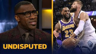 Shannon Sharpe: LeBron carrying the Lakers to playoffs may be too big of a burden | NBA | UNDISPUTED