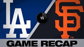 4/30/19: Balanced offense lifts Dodgers past Giants