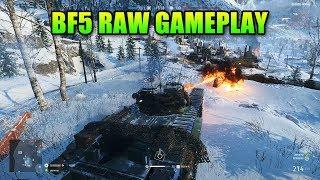 Battlefield V Sounds Amazing! - RAW Gameplay 1 Hour | Tanks, planes, infantry