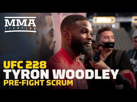 """Najważniejsze Fakty przed UFC 228 wg Tyrona Woodley'a: """"Traktuję tę walkę osobiście."""""""