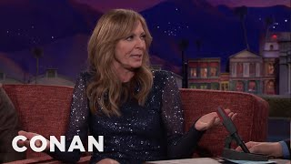 Allison Janney's Golden Globes Dance Off With Al Roker  - CONAN on TBS