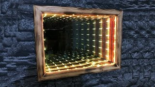 DIY Illusion Infinity Mirror!