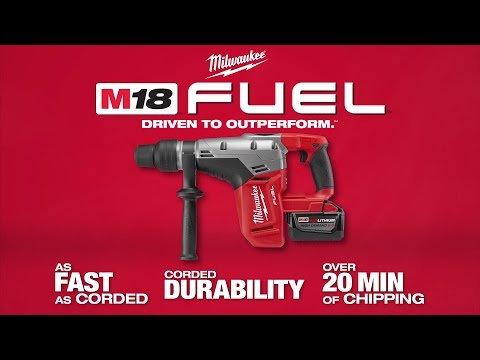 Milwaukee M18CHM-0 5kg SDS Man Drilling & Breaking Hammer Drill Body Only
