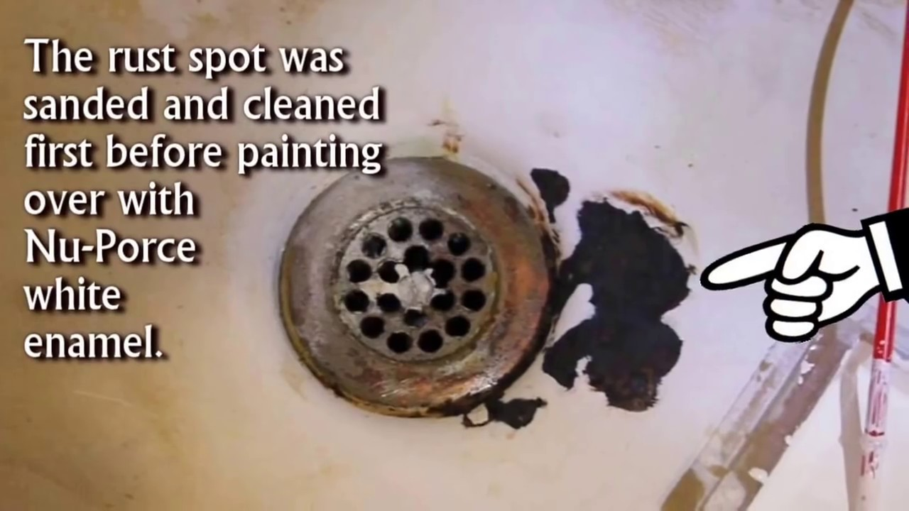 Fix Rust Spot Chipped Bathtub Amp Sink With Simple Store