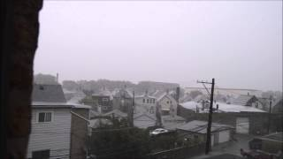 Tornado Warning In Chicago [Sirens Activated]