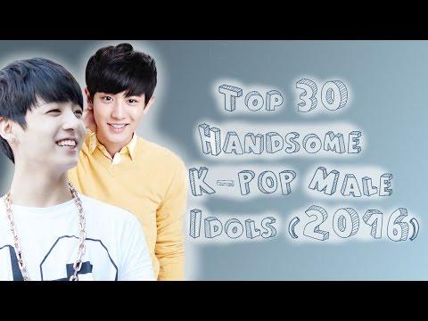 Top 30 Handsome K-POP Male Idols (2016)