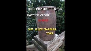 Ohio Treasure Hunting OLD DUMP DIGGING Archaeology TOYS