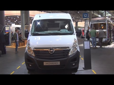 Opel Movano 2.3 Bi-Turbo L3H2 3.5t Panel Van (2017) Exterior and Interior in 3D