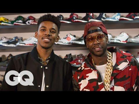 2 Chainz & Nick Young Shop for $25K Jordans | Most Expensivest Sh*t | GQ
