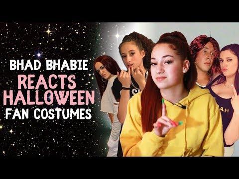 BHAD BHABIE Reacts to Fan Halloween Costumes | Danielle Bregoli