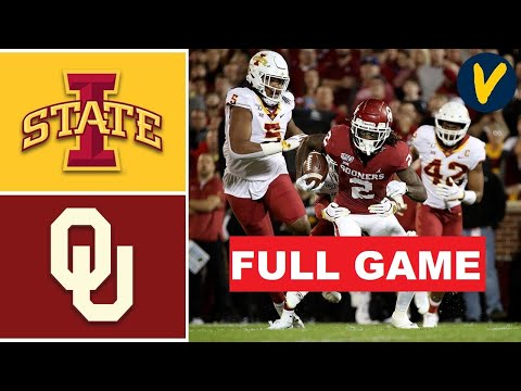 Oklahoma vs Iowa State Full Game HD | College Football Week 5 | NCAAF 10/3/2020